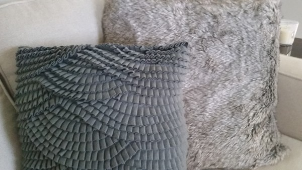 pillows with texture
