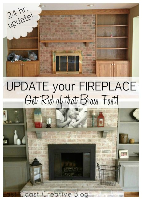 Fireplace facelifts with how to links home by hattan updated fireplace makeover eventshaper