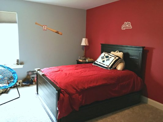 Kids and teens rooms summer makeovers home by hattan Accent wall do s and don ts