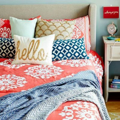 s complete small coral and teal bedroom and rooms summer makeovers home by hattan 242